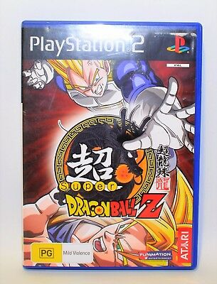 Super Dragonball Z PS2 Game PlayStation Good Condition #363