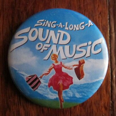 Sound Of Music Metal Badge In Very Good Condition