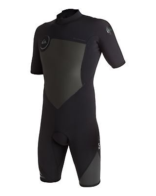 NEW QUIKSILVER™  Mens Syncro 2/2mm Short Sleeve Springsuit Wetsuit 2016 Surf