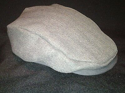 Tweed Style Baby flat cap (Fully lined)