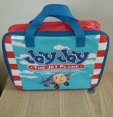 Jay Jay The Jet Plane carry all children's toy case multicolor organizer
