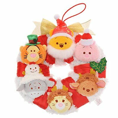 Tsum Tsum couronne noel christmas 2016 disney store japan new with tag