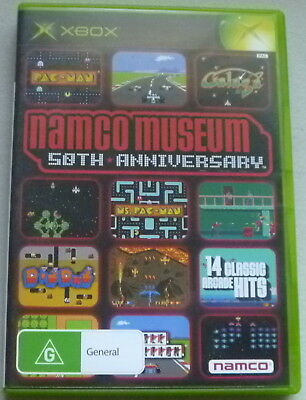 Namco Museum 50th Anniversary Collection (Microsoft Xbox, 2005)