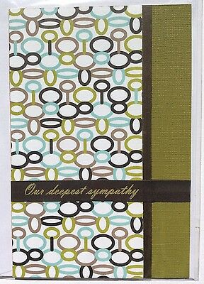 Blank Handmade Deepest Sympathy Card Max $2 Postage For Any Number of Cards
