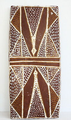 Aboriginal - Rare - Double Sided Painting On Board.