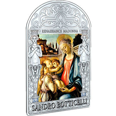 Andorra 2013 15 diners Madonna and Child with Two Angels  Proof Silver Coin