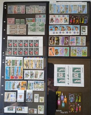 Collection Of Figi - Lot Of 87 Different Stamps On 4 Hagner Pages