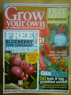 Grow Your Own November 2012