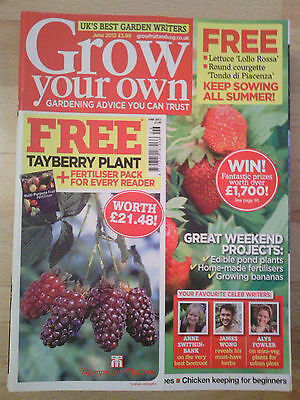 Grow Your Own June 2012