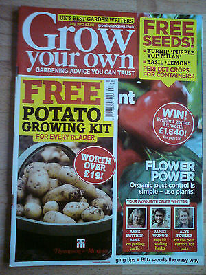Grow Your Own July 2012