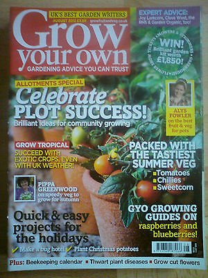 Grow Your Own August 2012