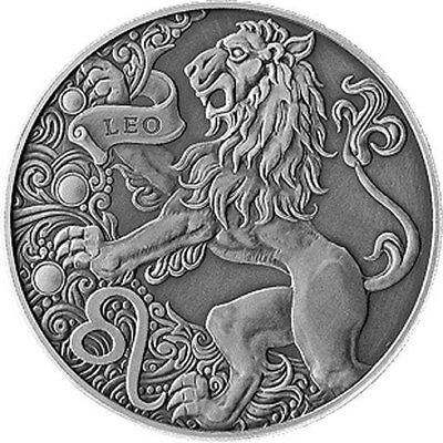 Belarus 2015 1 ruble Leo Signs of the zodiac Antique finish CuNi Coin