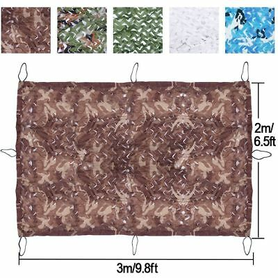 UK Camouflage Net Hunting Shooting Army Hide Camping Military Netting+Nylon Bag