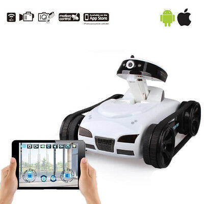 777-270 Wifi IOS Android Remote Control Mini RC Tank Toy With Camera ISPY Hot