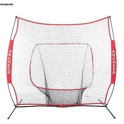 7 x 7ft Baseball Übungsnetz Trainingsnetz Driving Pitchen Training Target Net