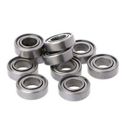 10Pcs 688ZZ Metal Mini Double Shielded Flanged Ball Bearing For 3D Printer Part