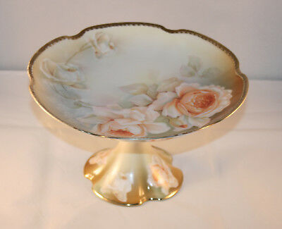 R S Poland China Made In (German) Poland Cake Stand