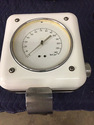 Vintage Tireflator Air Meter Pump Gas Service Station Unit Not Eco A Foreign