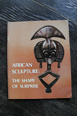 Super RAR: African Sculpture - The Shape of Surprise - Ausstellungskatalog 1980