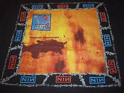NIN 94/95 Vintage Tour Shirt (Used Size XL) Ultra Rare & In Very Good Condition!
