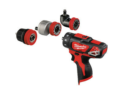Milwaukee 12V Compact 4 In 1 Multi Tool - M12Bddxkit - Machine Only