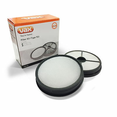 Vax Type 93 Filter Kit Replacement Vacuum Cleaner Spare Part 1-1-134230-00