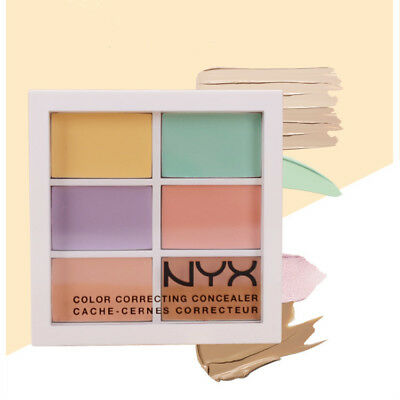 Cosmetics Women Face Make Up Correcting Concealer Palette NYX 3CP04
