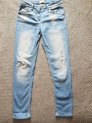 Next girls blue jeans. Age 12 years
