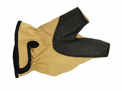 Bearpaw Bow Gloves from Cowhide Size S, M, L, x L
