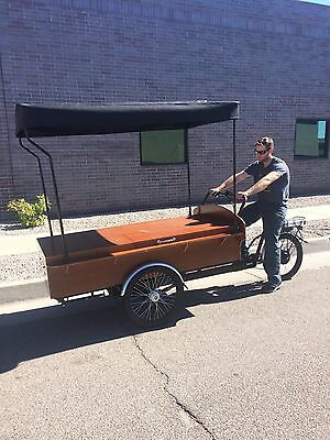 NEW* E-BIKE CART. Mobile Food Cart/Vending/Coffee Cart/Coffee Bike