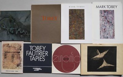 Mark Tobey: 8 catalogues et monographies