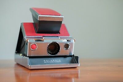 Polaroid SX-70. Perfect Condition. Tested with New Leather Skin