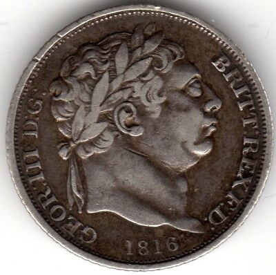 1816 George III Silver Sixpence***Collectors***