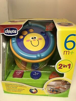 Chicco Shapes And Sounds Tambourine