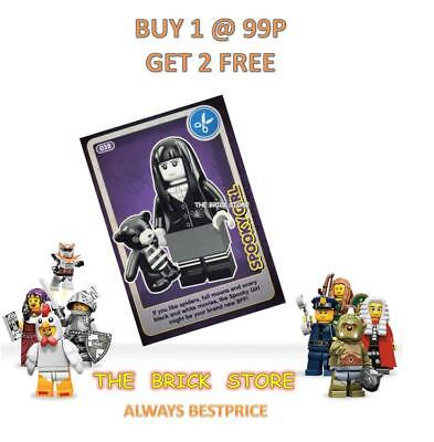 Lego #038 - Spooky Girl - Create The World Trading Card - Bestprice + Gift - New
