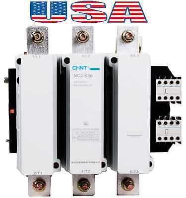 New Telemecanique Contactor LC1-F630 Replacement for Chint NC2-630 3Pole 630Amp.