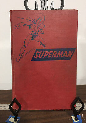 SUPERMAN by GEORGE LOWTHER 1942 1st edition no DJ reading copy