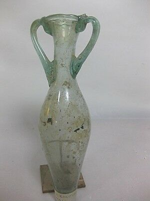 Excellent CLEAN 1st - 4th C Roman Glass Vessel