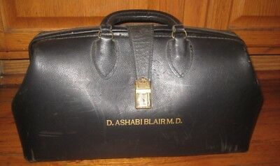 Vintage Schell Leather Doctor Bag