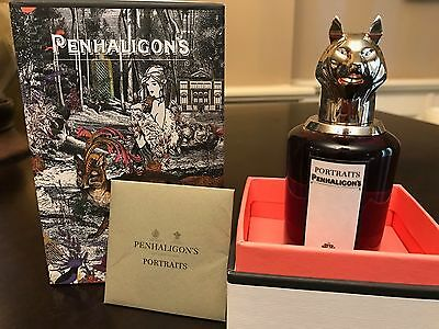 PENTHALIGON'S PORTRAITS Men's cologne! Recieved as gift, unused in original box!