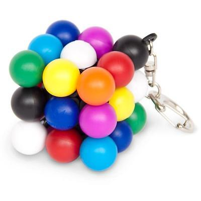 Molecube Mini Color Sudoku Keychain - Meffert's Rotation Puzzle
