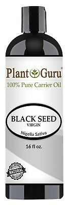 Black Cumin Seed Oil 16 oz. Cold Pressed Nigella Sativa 100% Pure Organic Virgin