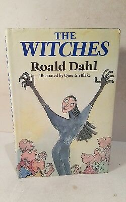 The Witches by Roald Dahl. 1983. 1st edition 1st print.