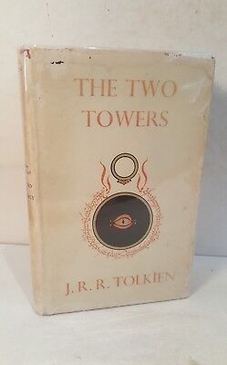The two towers. Tolkien. 1956. 1st edition. (Lord of the rings. Hobbit)