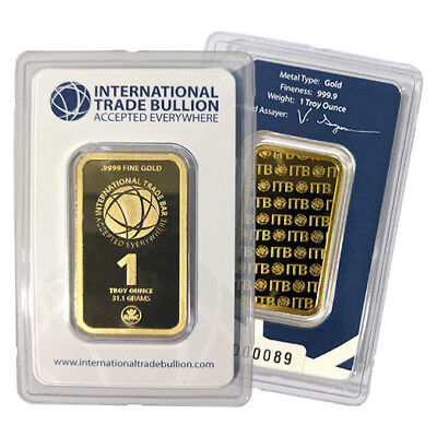 1 oz International Trade Bullion (ITB) Bar