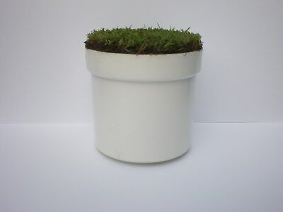 Golf Hole Cup with natural grass cover from your lawn