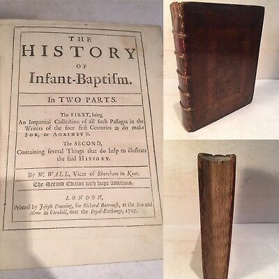 The history of Infant-Baptism. In Two Parts. Wall, W. 1707