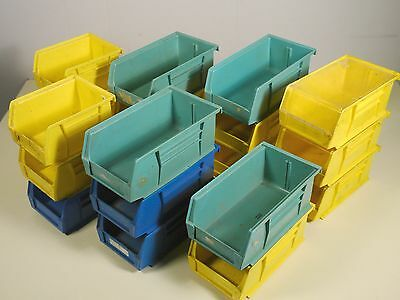 20 Akro-Mils Akro-Bins 30210 30220 storage hang & stack