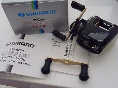 Shimano Curado CU-200 Made IN Japan Baitcasting Fishing Reel NIB Vintage
