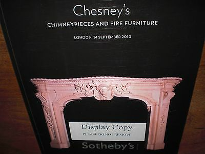 Interessanter  Auktionskatalog .  Chimneypieces   &   Fire  Furniture .  Results